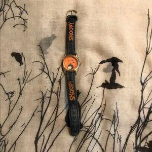 Vintage Snoopy Denim Watch, used for sale